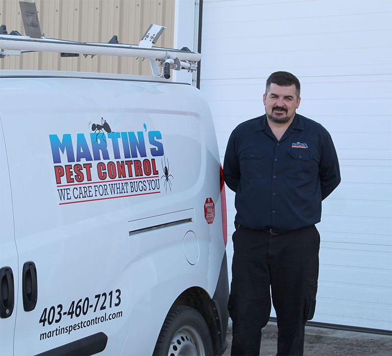 Matrin's Pest Control owner Bill Martin