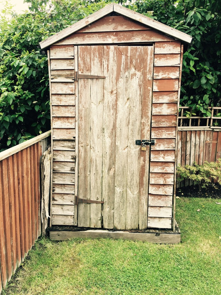 locked shed